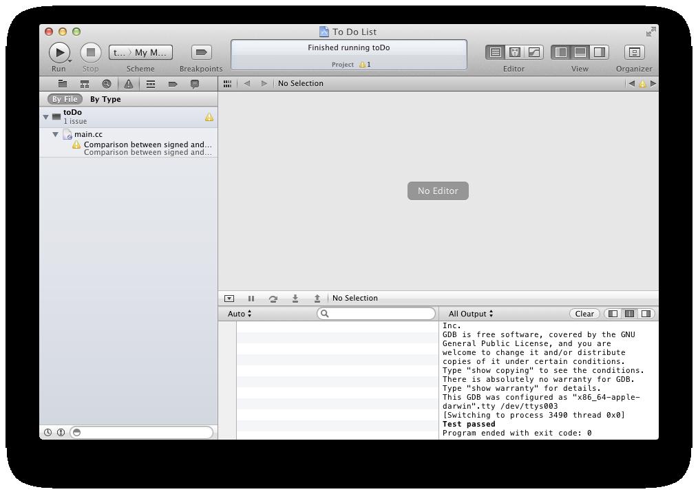 [Xcode build]